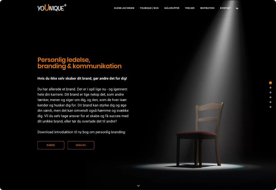 Younique.nu Homepage