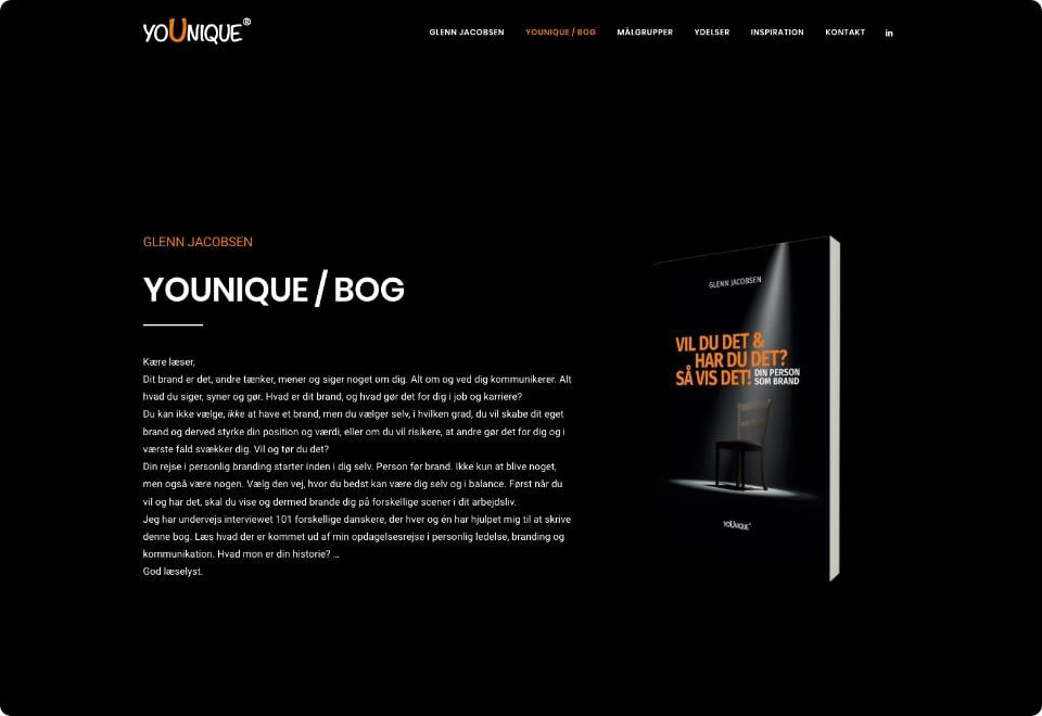 Younique - Book Page